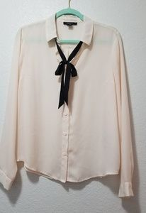 Forever 21 Bow Blouse